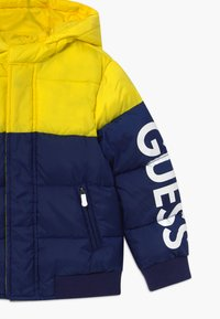 Guess - TODDLER HOODED PADDED JACKET - Winter jacket - bluish - 3