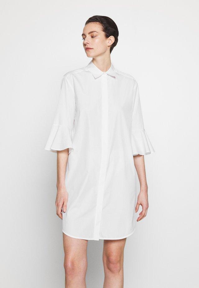 SERRA - Shirt dress - white