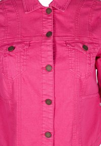 Zizzi - Denim jacket - pink - 4