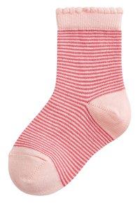 Next - 7 PACK PRETTY - Socks - pink - 4