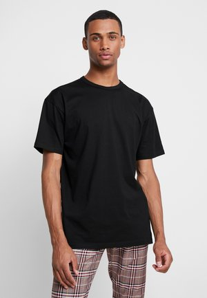 ORGANIC BASIC TEE - Basic T-shirt - black