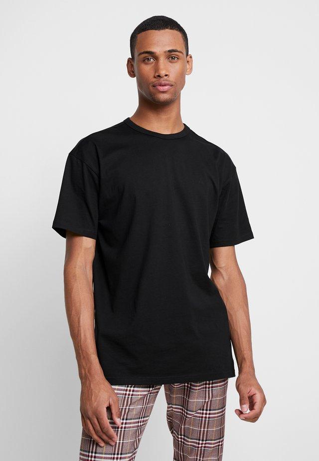 ORGANIC BASIC TEE - Basic T-shirt - black