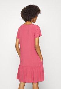 Marc O'Polo DENIM - DRESS FRILL SKIRT - Day dress - blackberry sorbet - 2