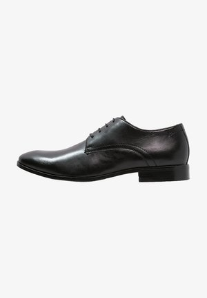 STEEL - Veterschoenen - black