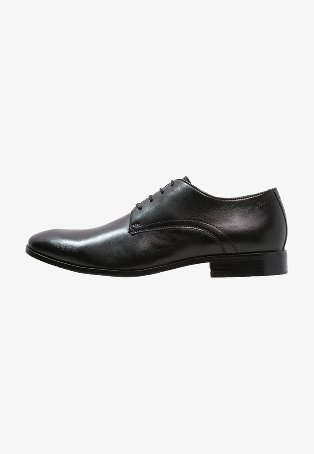 STEEL - Smart lace-ups - black
