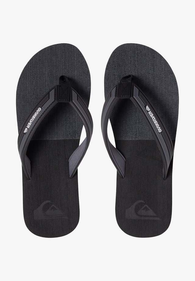 T-bar sandals - black/grey/black