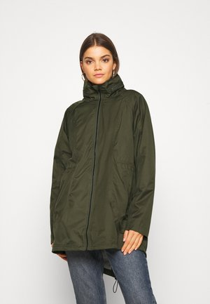 VIWINDAS COATED JACKET - Parkaer - forest night