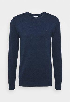 ROUND NECK - Maglione - medium blue