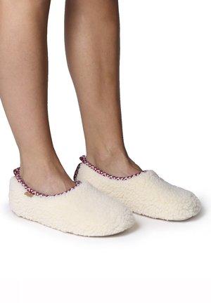 MARTA-SH - Slippers - blanc