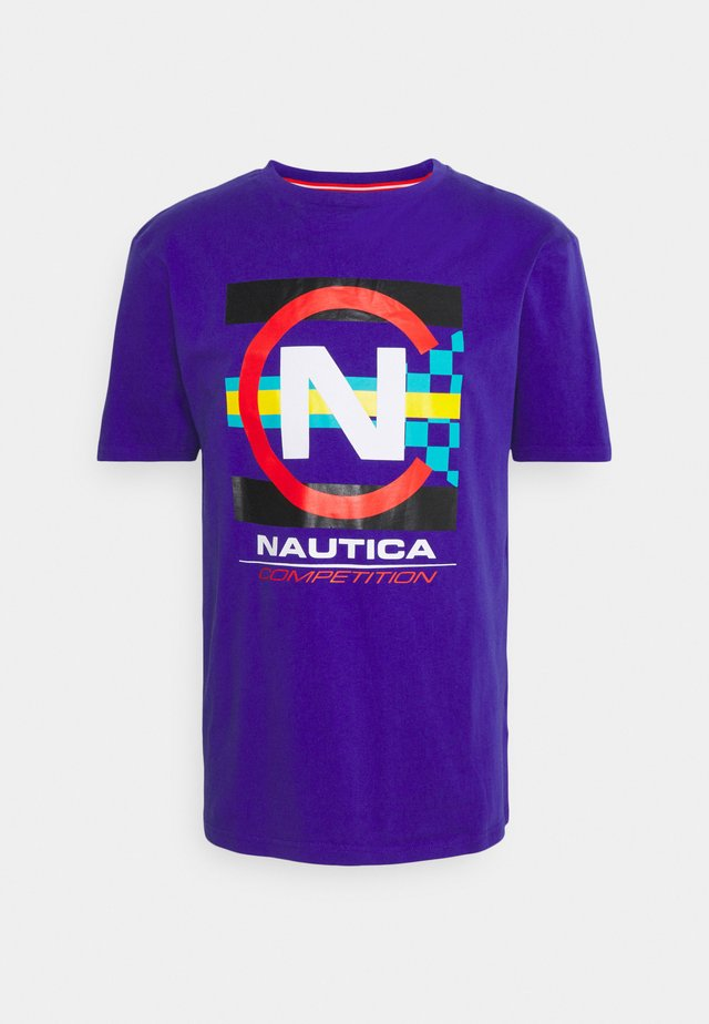 GRAPNELL - T-shirts med print - purple