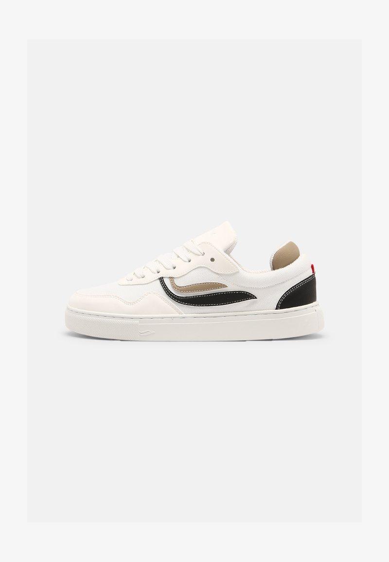 Genesis - G-SOLEY UNISEX - Sneakers basse - white/khaki/black