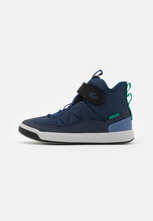 EXPLRATUR POINTE - High-top trainers - navy/black