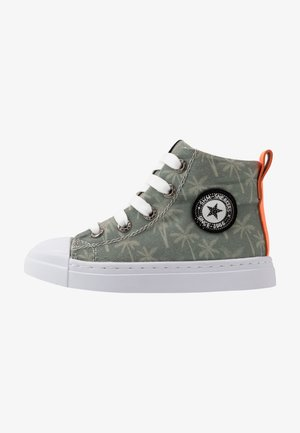 TRAINER - High-top trainers - army green