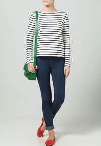 Petit Bateau - Sweatshirt - weiß/blau - 1