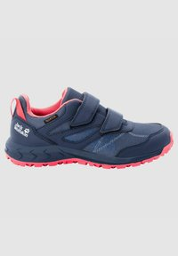 Jack Wolfskin - Walking shoes - dark blue / rose - 4