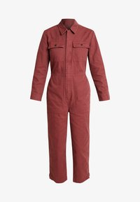 Madewell - HOLIDAY COVERALL - Jumpsuit - rusted burgundy - 5