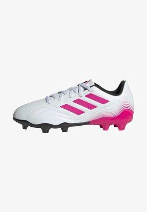 COPA SENSE.3 FIRM GROUND - Moulded stud football boots - ftwwht/shopnk/cblack