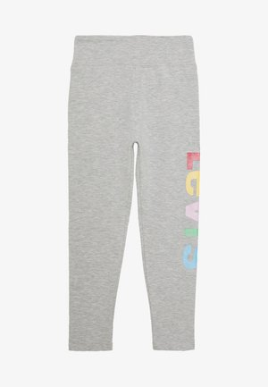 HIGH RISE GRAPHIC - Legginsy - light gray heather