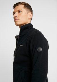 Ragwear - TRAYNE - Fleece jacket - black - 5