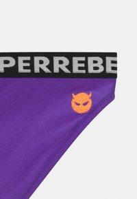 SuperRebel - SET - Bikini - fluo purple - 2