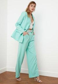 Trendyol - Pantalon classique - light blue - 3
