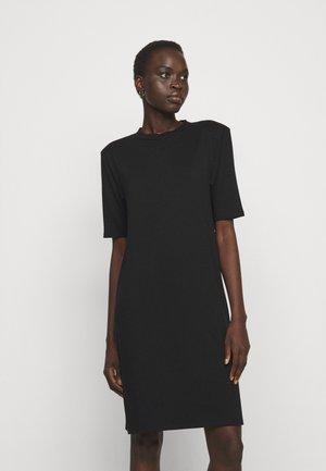 CORA DRESS - Shirt dress - black