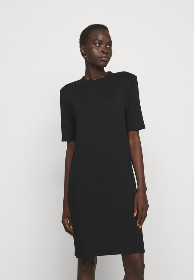 CORA DRESS - Paitamekko - black