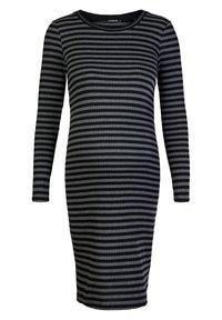 Supermom - STRIPE - Jersey dress - black - 4