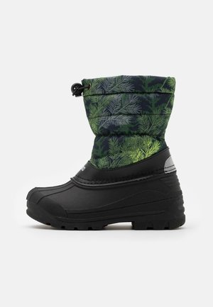 NEFAR UNISEX - Winter boots - dark green