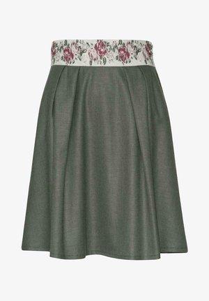 LEIFERS-2-U - A-line skirt - grün