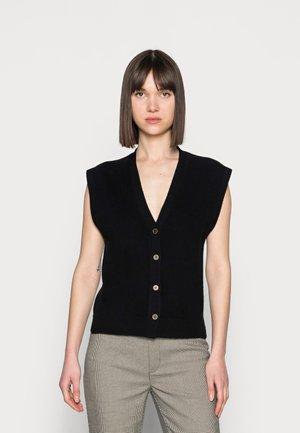THILDA WAISTCOAT - Waistcoat - black