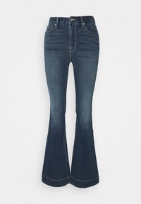 TROUSER HEM - Široké džíny - blue