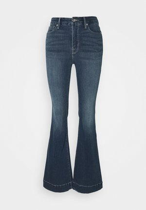 TROUSER HEM - Flared Jeans - blue
