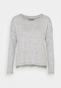 COZY COLD SHOULDER - Svetr - gray