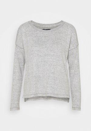 COZY COLD SHOULDER - Svetr - gray