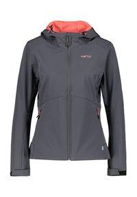 Meru - BREST - Soft shell jacket - dunkelgrau (229) - 4
