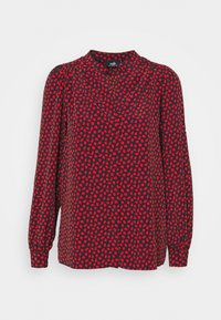 Wallis - LIPSTICK LEAF - Blouse - red - 5