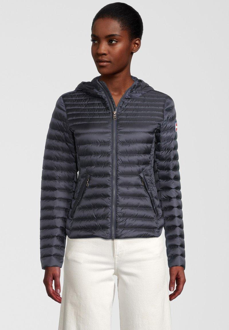 Colmar Originals - PUNKY - Down jacket - navy blue-light stee