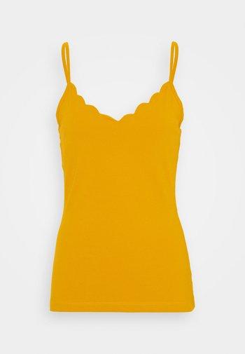 Topper - dark yellow
