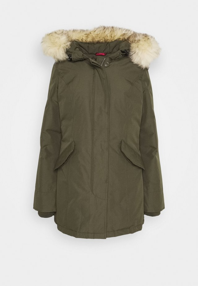 FUNDY BAY - Down coat - army