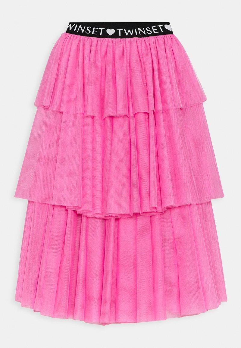 TWINSET - SKIRT - Maxi skirt - rose bloom