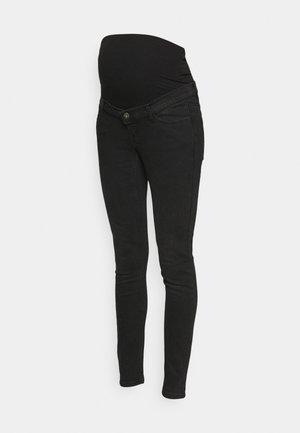 PCMHIGHFIVE FLEX - Jeans Skinny Fit - dark grey denim