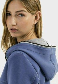 camel active - SCUBA - Zip-up sweatshirt - blue - 3