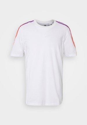 STRIPE UNISEX - Printtipaita - white/multicolor