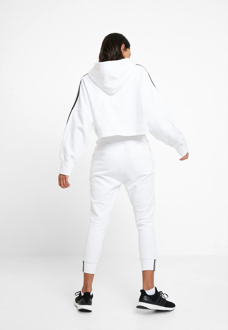 ADICOLOR CROPPED HODDIE SWEAT Sweat à capuche white