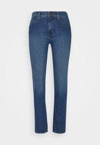 Straight leg jeans - ocean blue wash