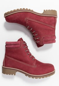 Marco Tozzi - Lace-up ankle boots - chianti - 3