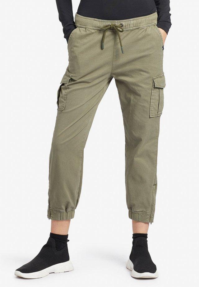 INDILA - Trousers - olive