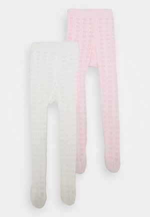 BABY 2 PACK - Tights - rosa/latte
