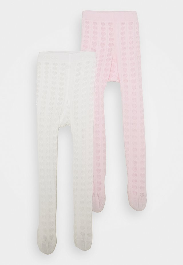 BABY 2 PACK - Collant - rosa/latte